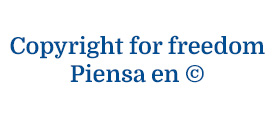 Copyright for freedom. Piensa en ©